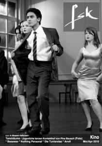 Tanzträume -Jugenliche tanzen Kontakthof von Pina Bausch(Foto)* Beeswax * Nothing Personal * Die Tunisreise * Anvil