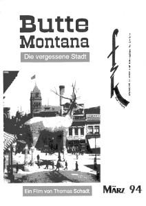 Schadt: Butte Montana·Jacques Doillon Retro