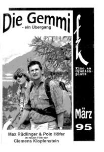 Movie Days·Die Gemmi & Im Regen-Tant Pis·Brotherly Love·Danzon