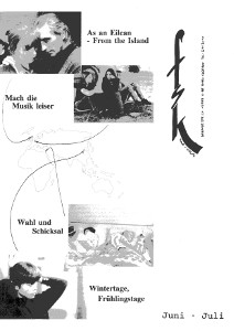 Thomas Arslan: Mach die Musik leiser·Wang Xiaoshuai:Wintertage Frühlingstage·As an Eileen-From the Island·Wahl und Schicksal·Ophüls: Memory of Justice