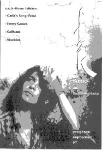 --Carla's Song·Funny Games·Gallivant·Gustavo Mosqueras' Moebius